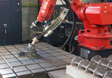 ロボットによる溶接